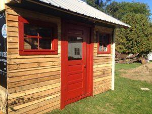 Make Your Own Pallet Shed or Pallet Cabin
