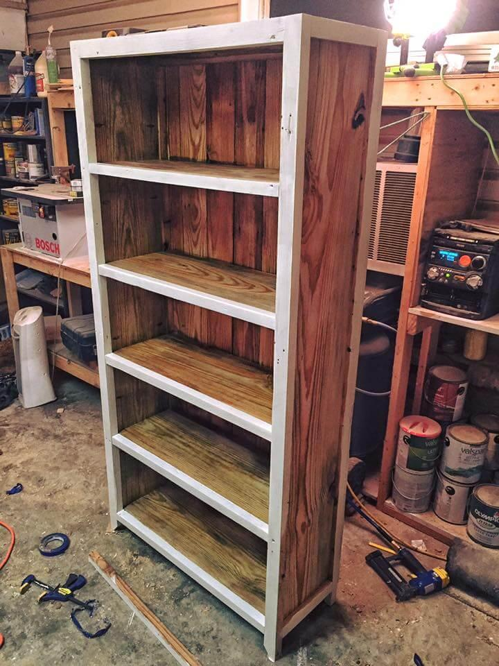 pallet storage tower or bookshelf