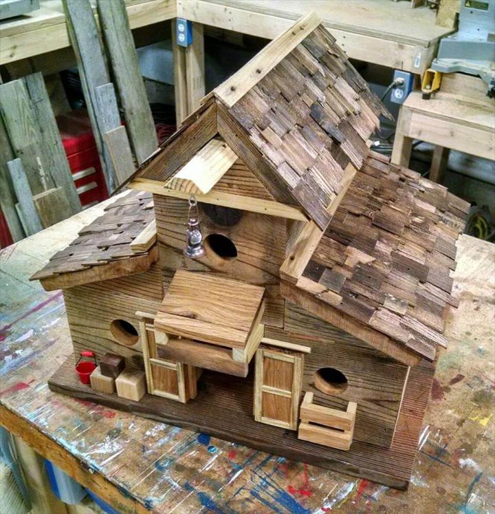 mini pallet residence toy for kids