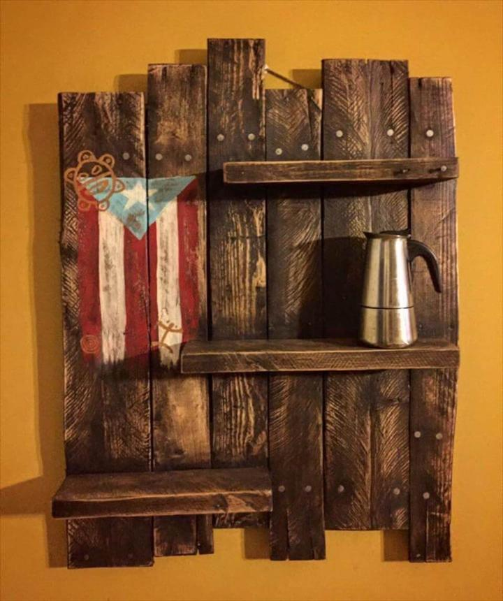 Pallet Shelves Ideas: 150+ Wonderful Pallet Furniture Ideas