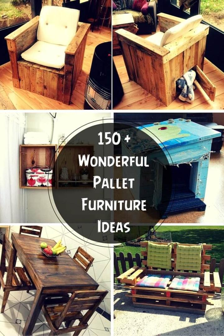 Pallet Furniture Plans and Projects