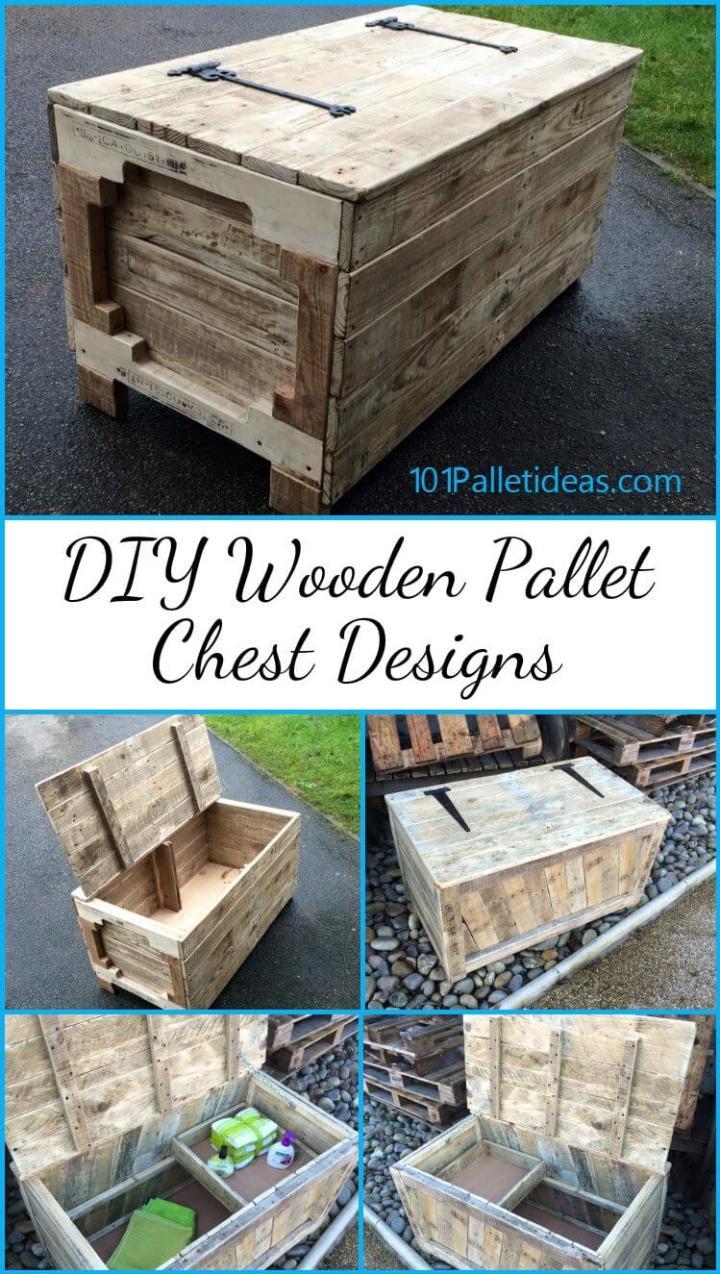 DIY Pallet Chest