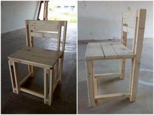Easy Reclaimed Pallet Chair Design