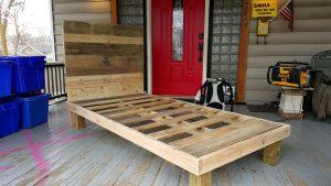 How to Make a Pallet Bed ???