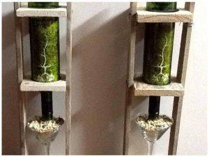 DIY Mini Hanging Pallet Bars