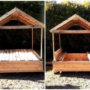 Pallet sandbox design