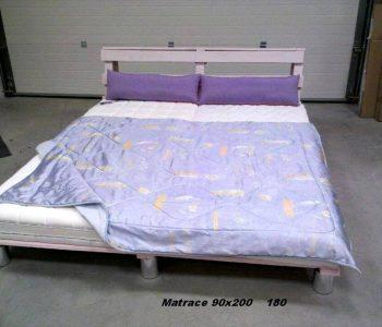 custom wooden pallet platform bed