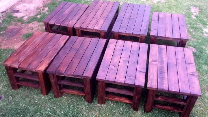 diy pallet coffee tables