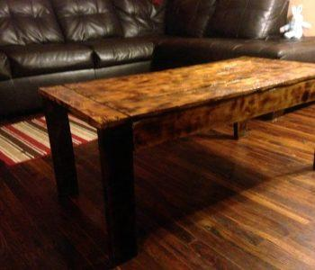 handcrafted wooden pallet antique coffee table