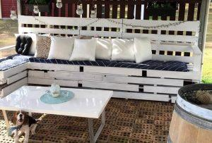 DIY Pallet Patio Furniture and Decoration