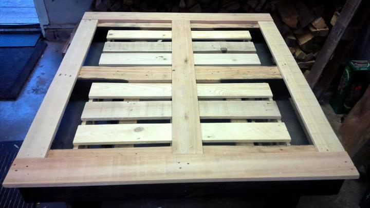 making dining table out of pallets