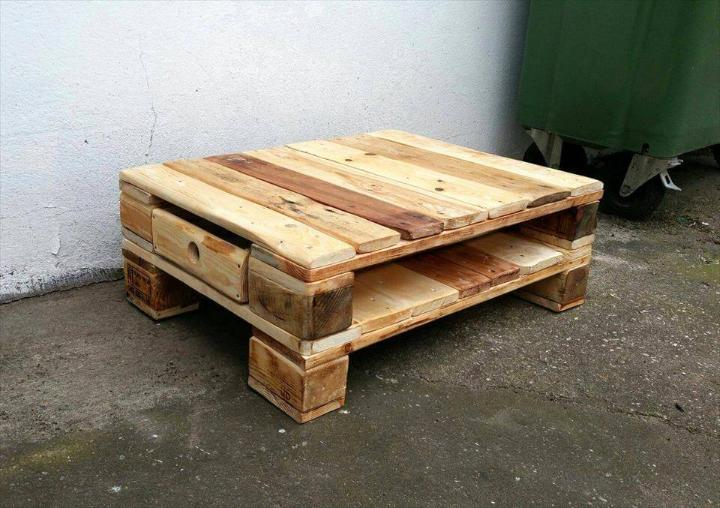 DIY Custom Pallet Table ideas - Easy Pallet Ideas