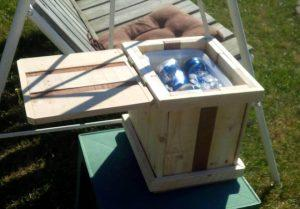 Bonfire Pallet Drink Cooler – Tutorial