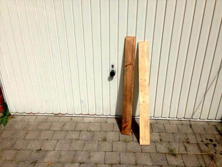 custom wooden pallet slats