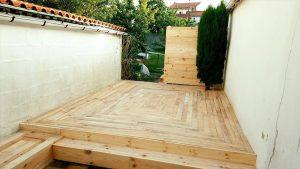 Build a low-cost Wood Pallet Deck