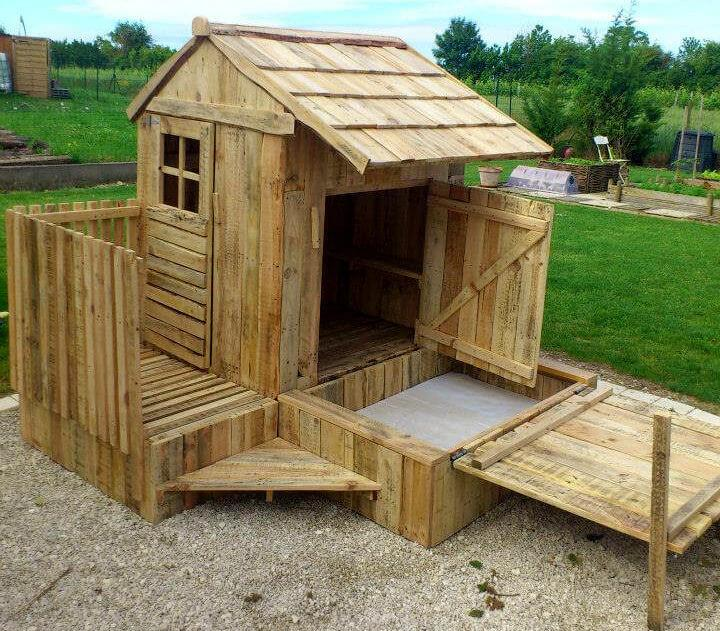 Pallet Playhouses For Kids Creativity Amp Health Boost