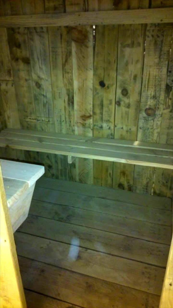 no-cost pallet kids playhouse