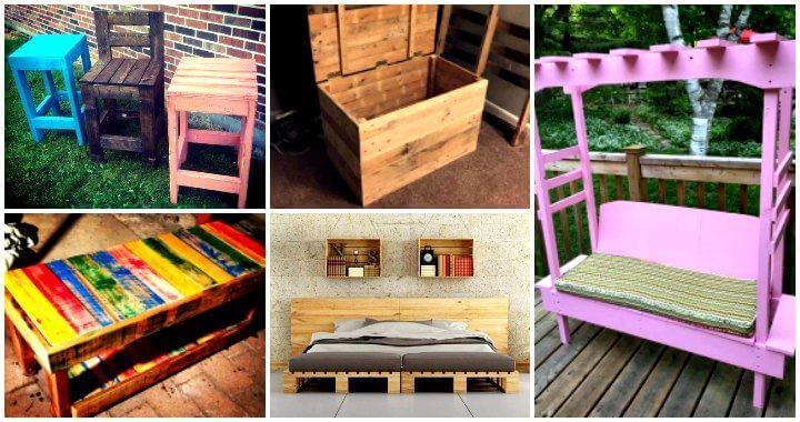 45 Easiest Diy Projects With Wood Pallets You Can Build Easy Pallet Ideas