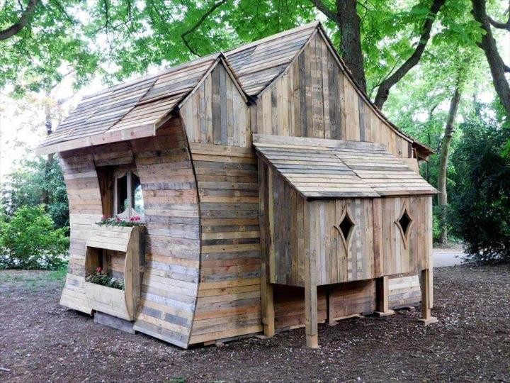 well architected pallet cabin