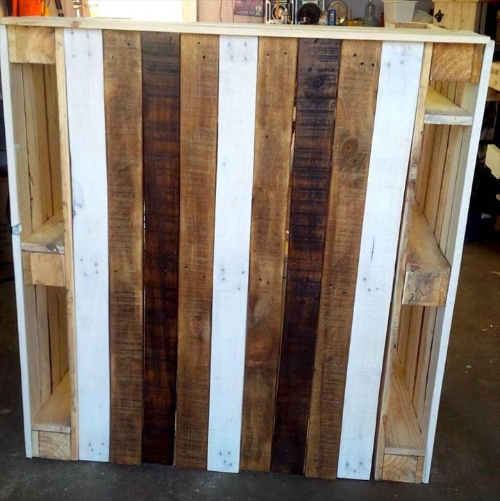 how to build a bar with pallets