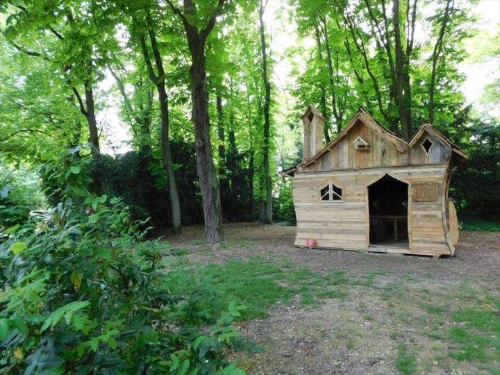 diy pallet garden fancy cabin