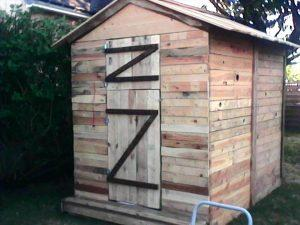 Pallet Garden Shed – Easy to Make