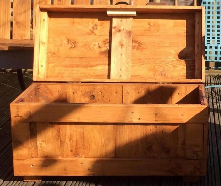 no-cost sturdy pallet chest