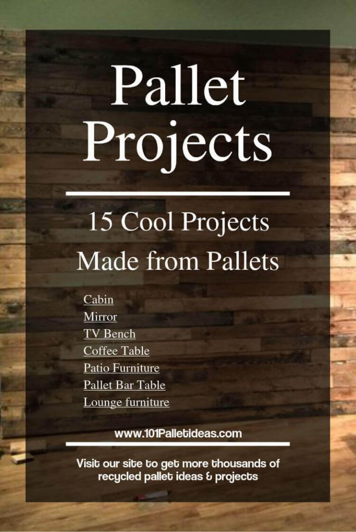 recycled pallet ideas and projects