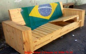 Build a Wooden Pallet Sofa on Wheels