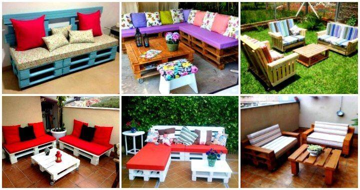 pallet furniture garden. Pallet Furniture Garden E