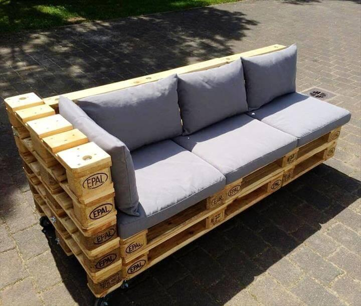 euro pallet furniture cape town sale reclaimed euro pallet cushioned seater 20 pallet ideas you need to do diy now easy