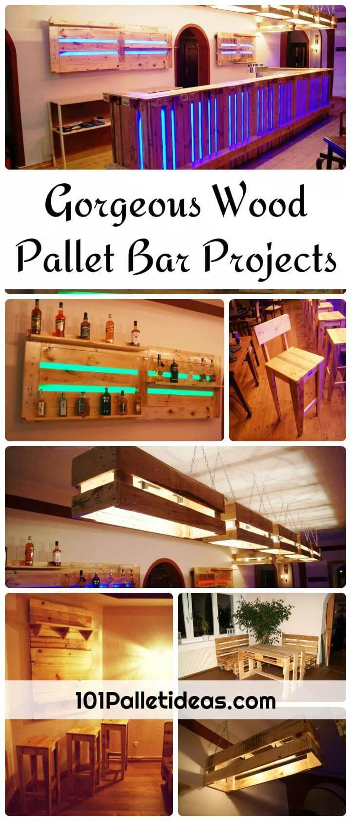 Pallet Bar Projects