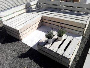 DIY Pallet Lounge Furniture Set