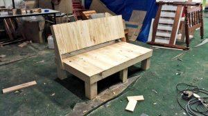 DIY Pallet Shop Furniture