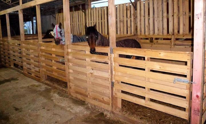 Pallet Horse Stable Shelter Easy Pallet Ideas