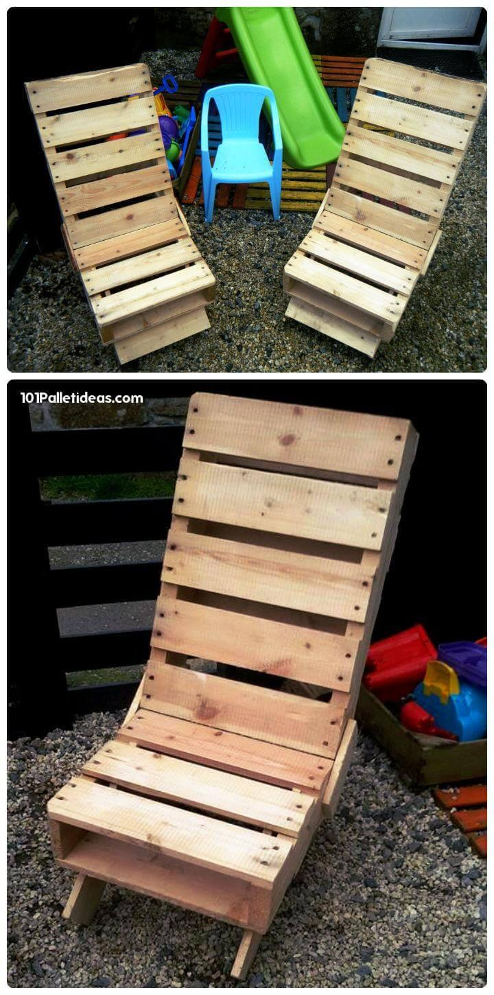 pallet patio or outdoor loungers