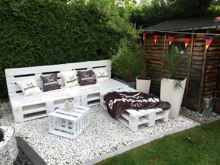 Pallet Garden Furniture Diy Easy Pallet Ideas - Pallet-garden-ideas
