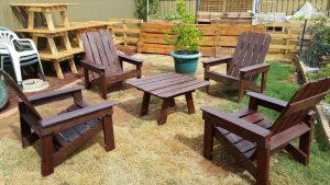 DIY Wood Pallet Outdoor Furniture Ideas