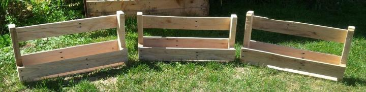 wooden pallet shoes rack