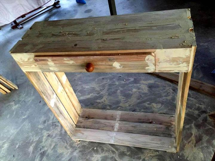 how to build a shoes rack with pallets