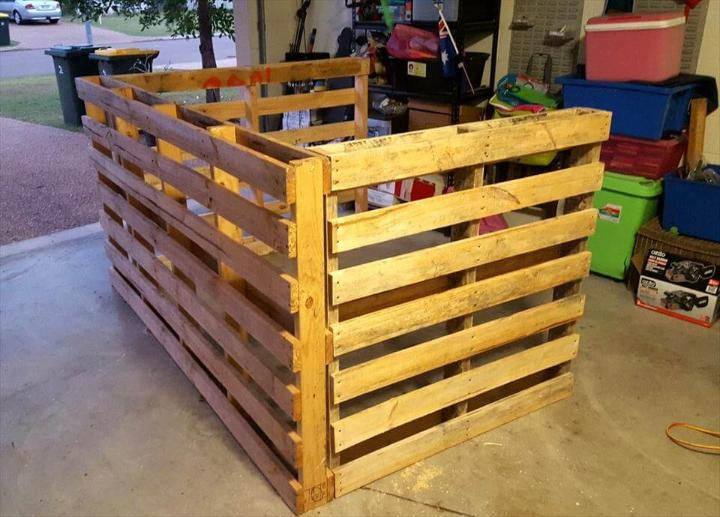 wooden pallet large bar