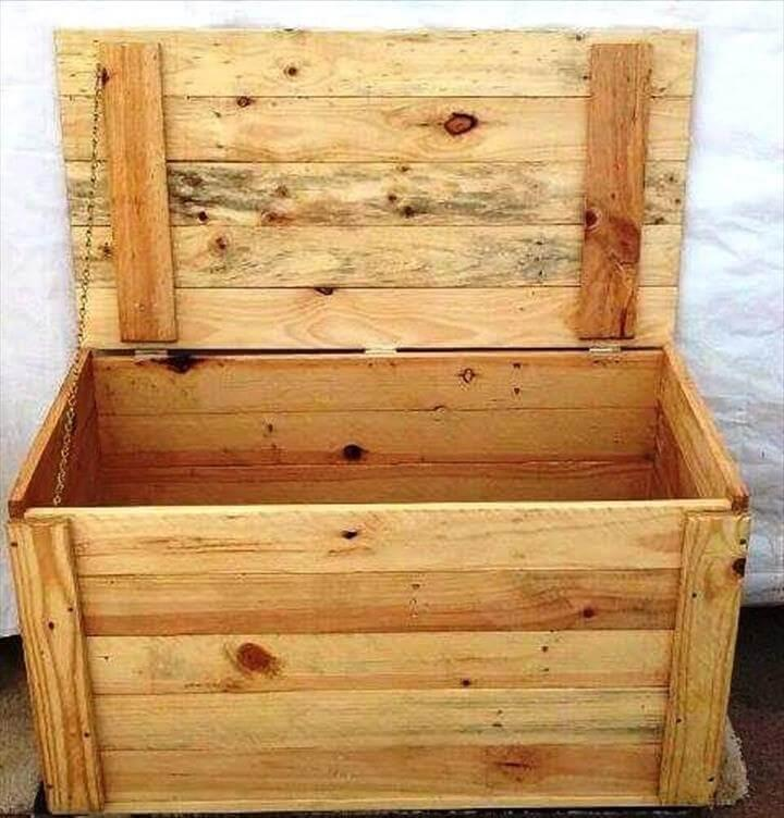pallet chest or mini storage box