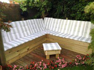beautiful pallet garden sectional sofa