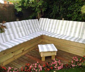 beautiful pallet garden sectional sofa