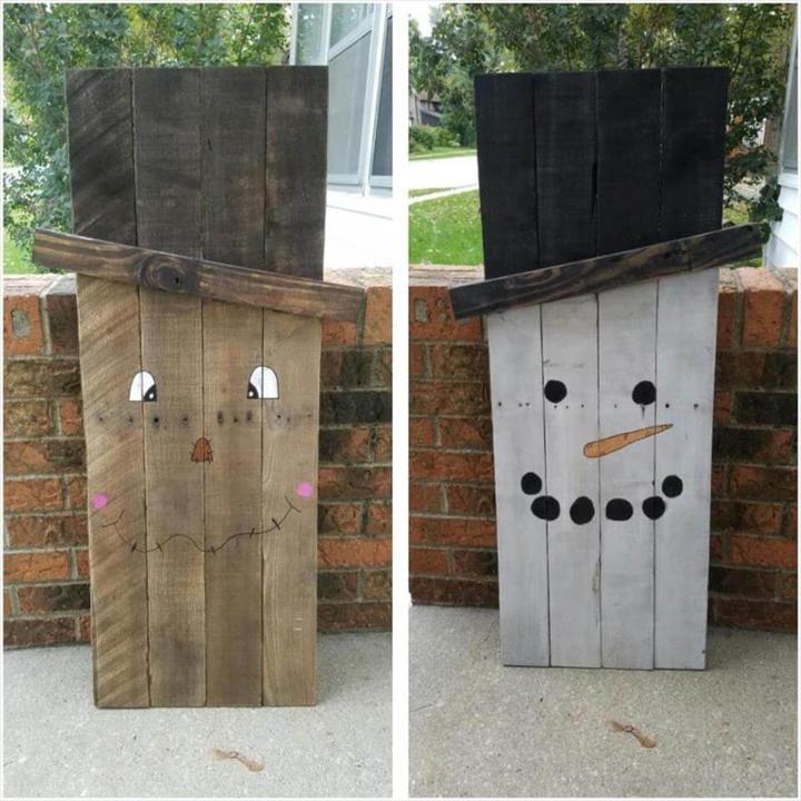 cute pallet Halloween crafts