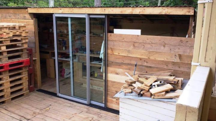custom wooden pallet home improvements