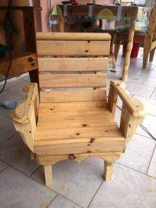 Pallet Chair for Daughter – DIY Pallet Tutorial