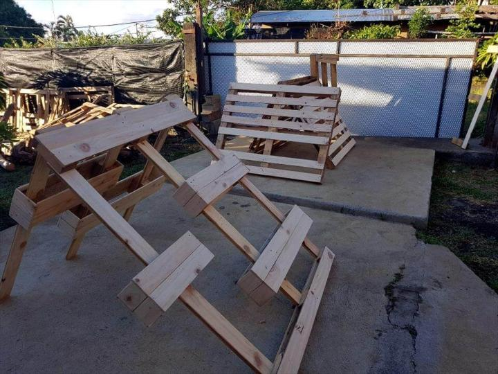 pallet planter wall