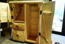 hand-built pallet jewelry box