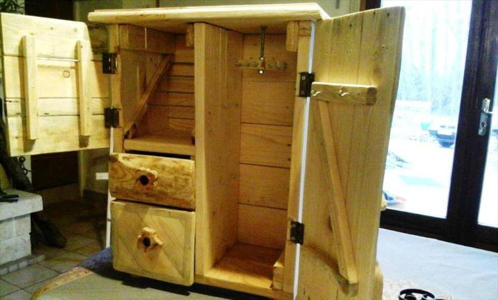 Upcycled Pallet Jewelry Box Easy Pallet Ideas